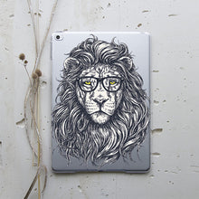 Hipster Lion iPad Case