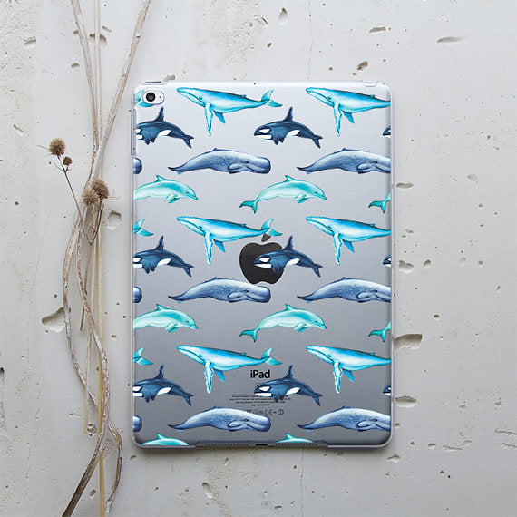 Blue Whale  iPad Case