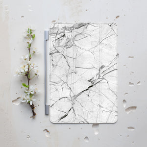 Marble White Stone iPad Smart Cover