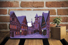 Town Winter Macbook Case