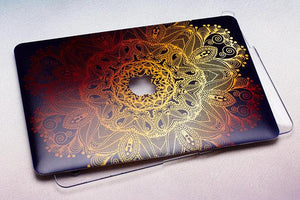 Indian Flowers Macbook Case