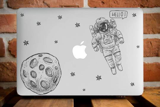 Space Planet Macbook Case
