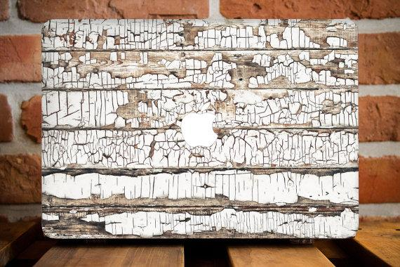 Wooden Panels Macbook Case