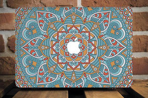 Mandala Henna Macbook Case