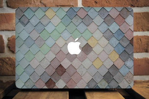 Colorful Roof Macbook Case