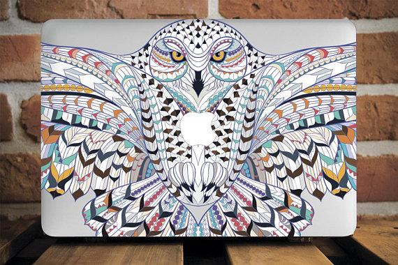 Animal Owl Macbook Case