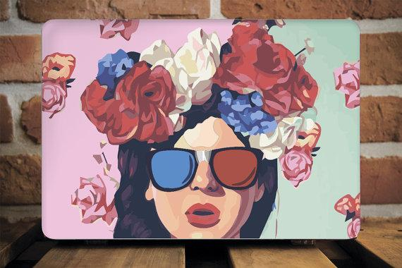 Pin-Up Girl Macbook Case