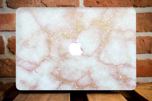 Pale Marble Macbook Case