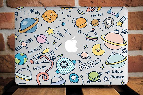 Planets Macbook Case