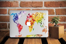 Colorful Map Macbook Case