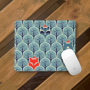 Raccoon Cute Animals Mouse Pad
