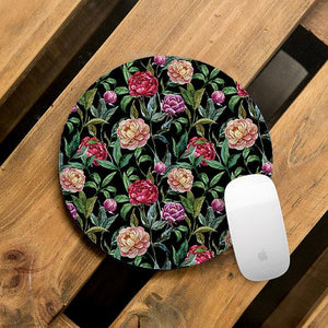 Cool Flower Mouse Pad