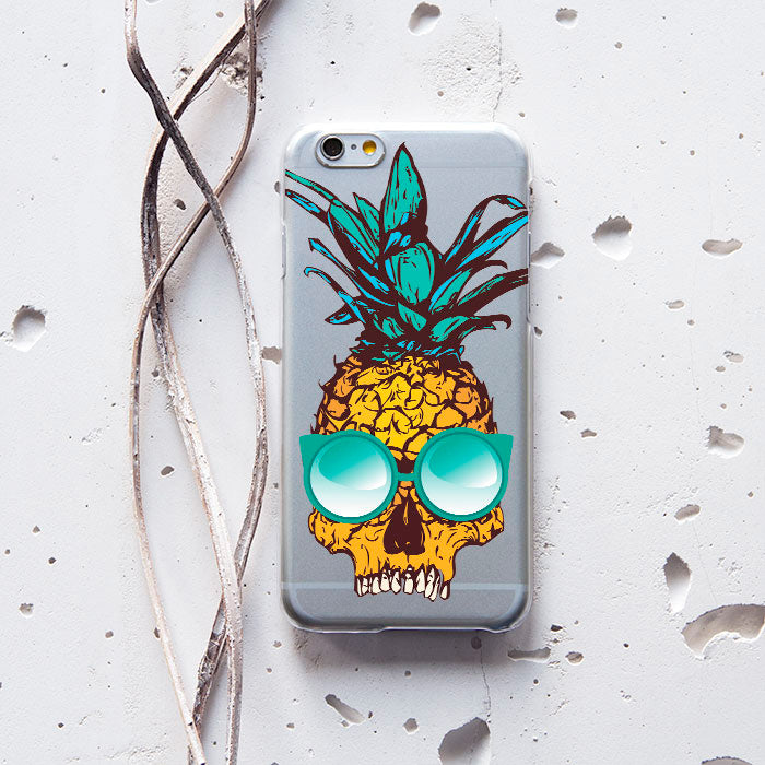 Skull Pineapple Phone Case