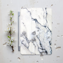 White Marble iPad Smart Cover