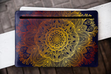 Leather Gold Mandala Macbook Pro Case MacBook WCM2504