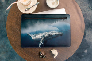 Whale MacBook Retina Case Handmade Laptop Sleeve WCM2509