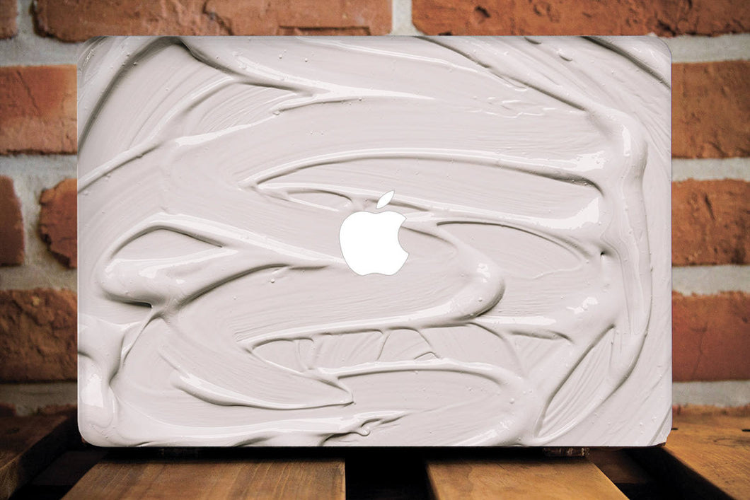 Beige Macbook Case