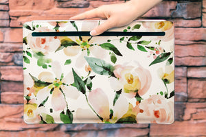 Floral Macbook  Sleeve WCM2305
