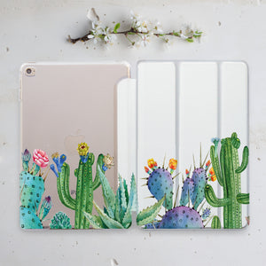 Succulents Indivisible iPad Case+Smart Cover