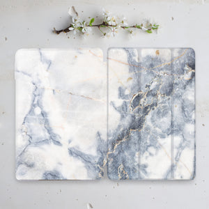 Marble Unique Indivisible iPad Case+Smart Cover