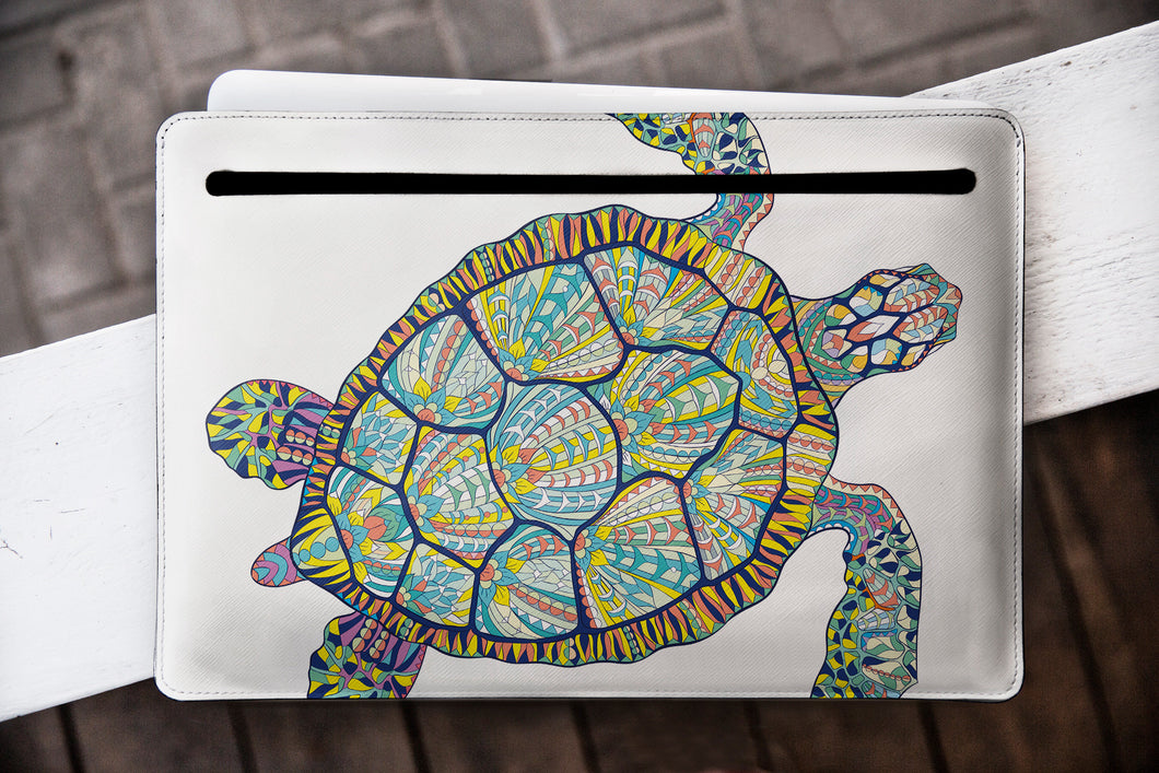 Turtle Laptop Case Macbook Air Leather WCM2295