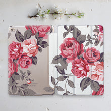 Flowers Floral Indivisible iPad Case+Smart Cover