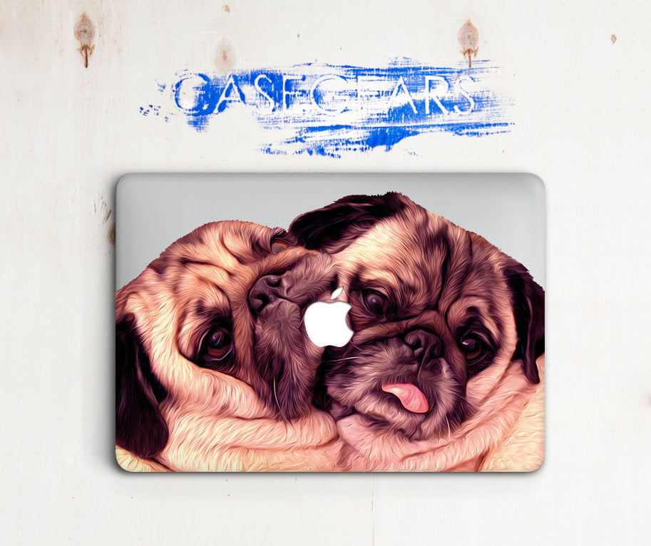 Pugs Dogs Macbook Case