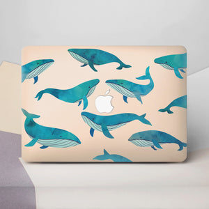 Whale Macbook Case