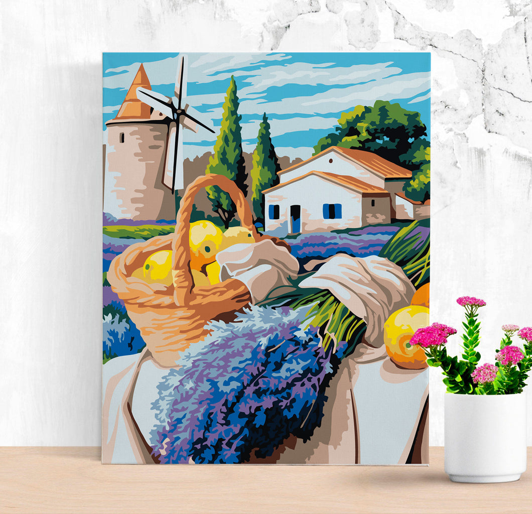 Acrylic Colorful Painting By Numbers DIY Paint by Number Kit Acrylic Painting Home Decor Multicolor Oil Paints Paint By Numbers MA0039