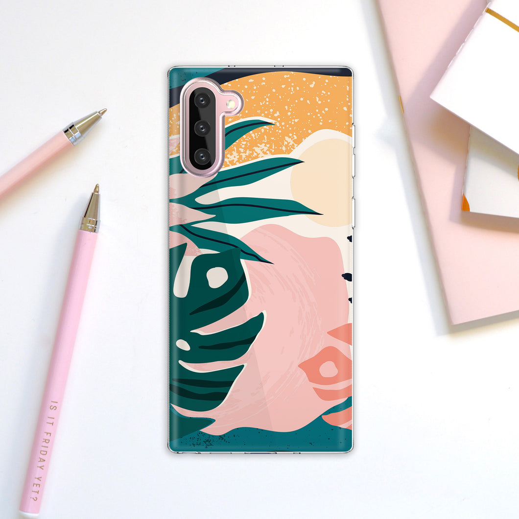 Abstact Art Pastel Exotic Samsung Galaxy S10 Case For Women Samsung Glaxay S9 Plus Case Samsung S8+ Case Samsung S20 Case Note S7 MA0028