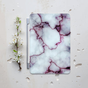Burgundy Marble iPad Smart Cover