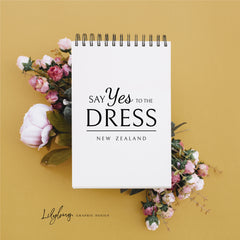 say yes to the dress logo lilybug graphic design