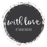 With Love by Sarah Imeson Logo