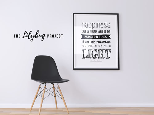 Dumbledore Harry Potter quote digital printable file or print by The Lilybug Project
