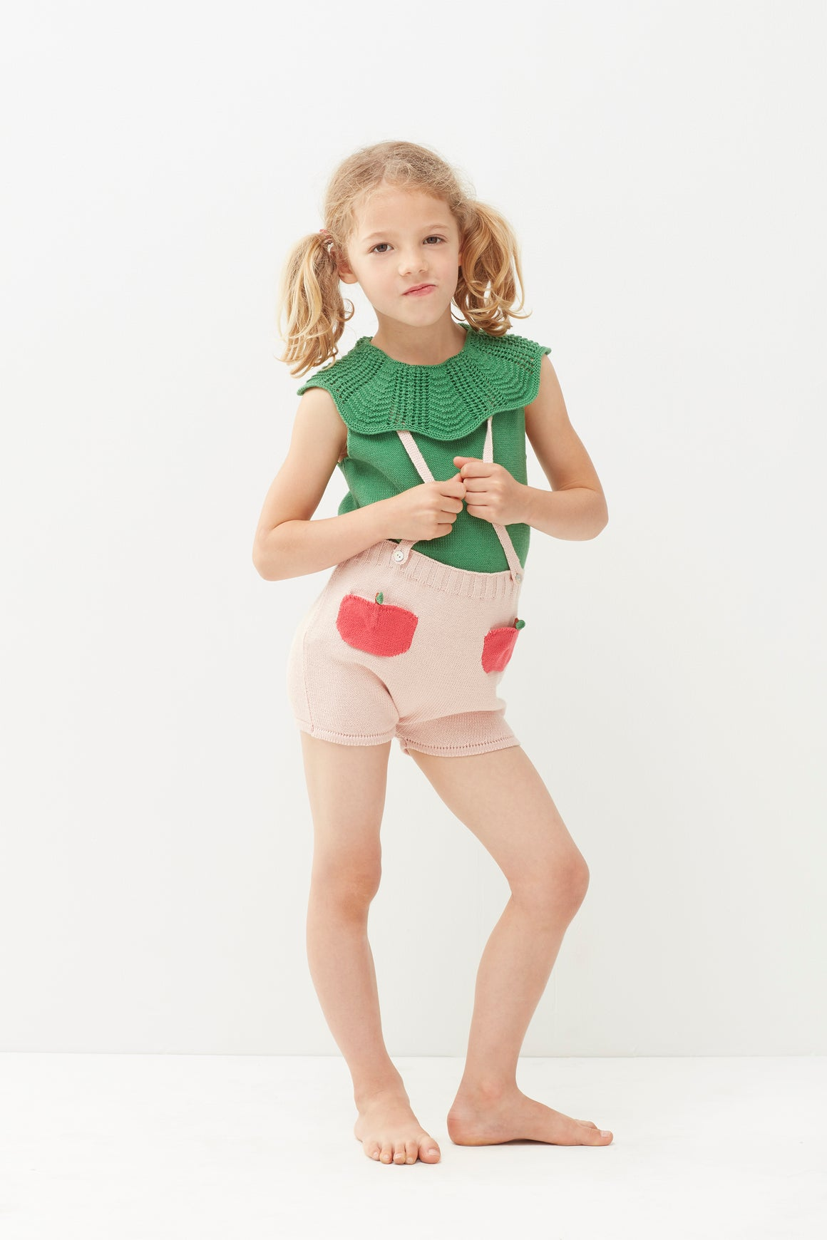 OEUF - Peach Pocket Shorts - Light Pink