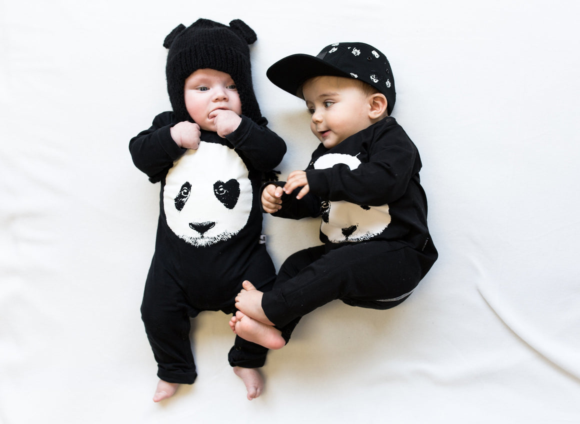 LUCKY NO.7 Panda Onepiece - Last One!! Size: 8-18M