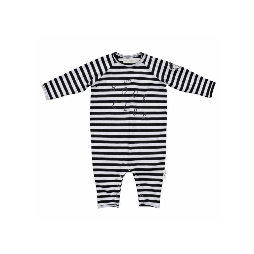 KID + KIND - Book Club Striped Playsuit
