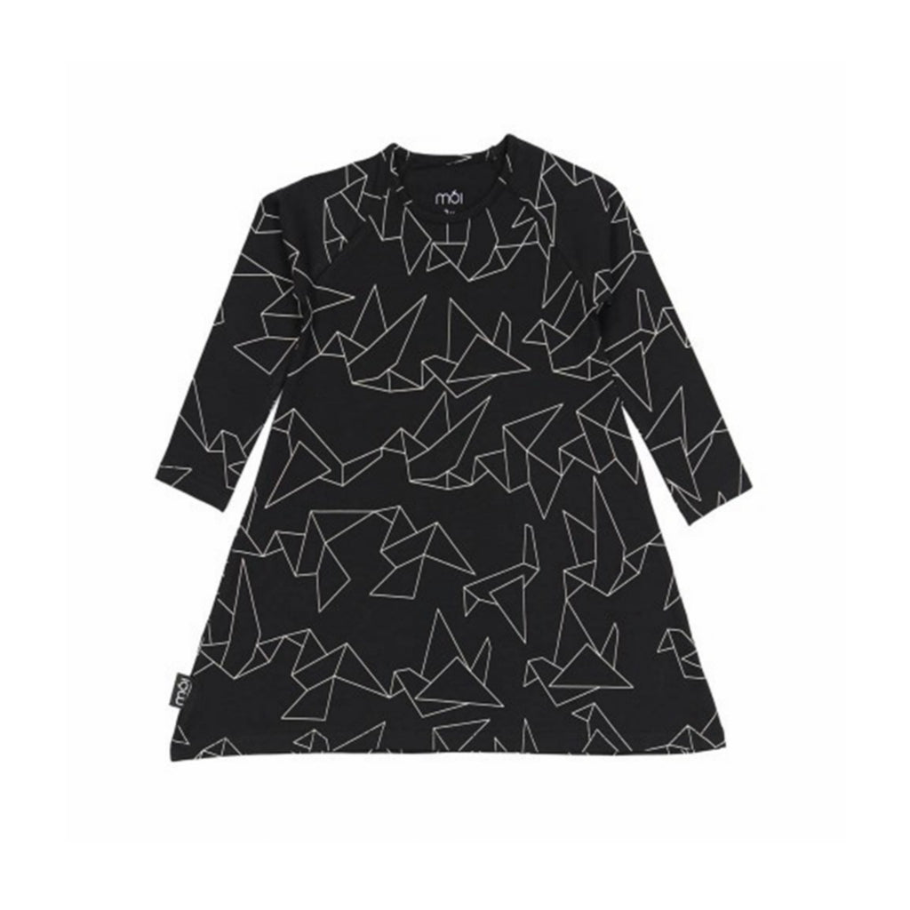 MOI A Dress - Black Origami - Last One!! Size: 12-18M