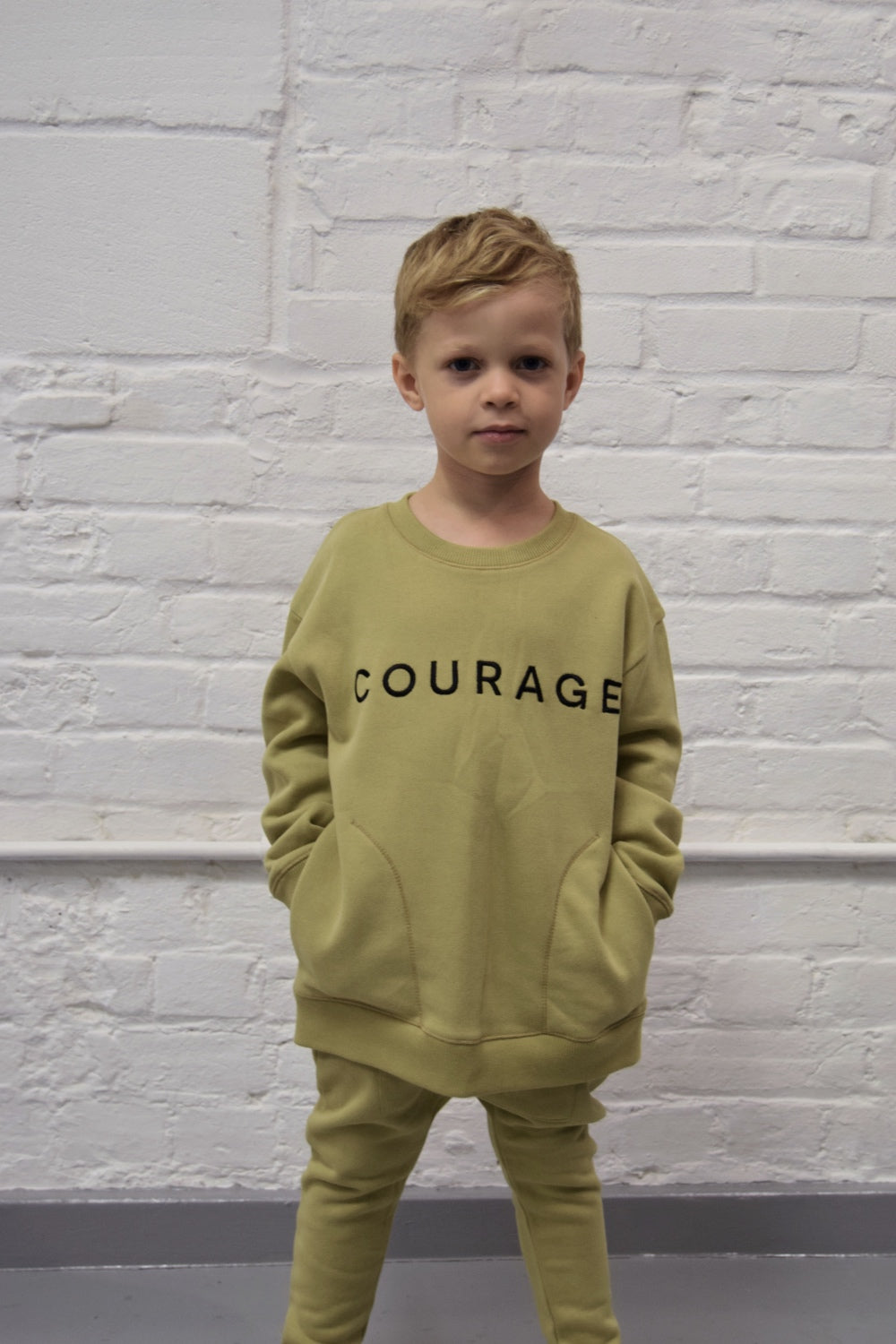 JAX & HEDLEY Courage Sweatshirt - Last One!! Size: 4-5Y