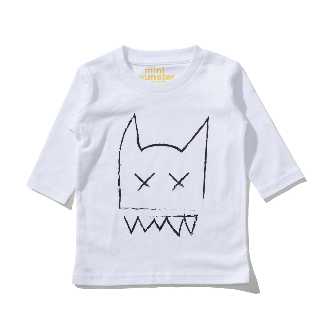 MUNSTERKIDS Cross Me Long-sleeve Tee - White