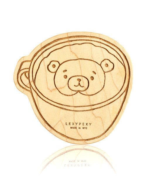LEXYPEXY Wooden Teether - The Baily