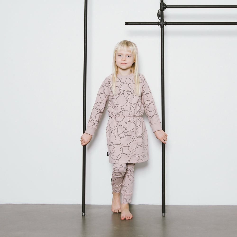 MOI Winter Dress - Blush Seed