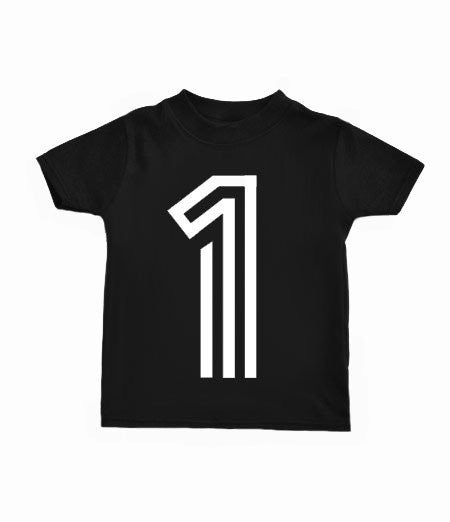 LITTLE BABE DESIGNS Birthday Bold Number T-Shirt - Last One!! Size: 5Y