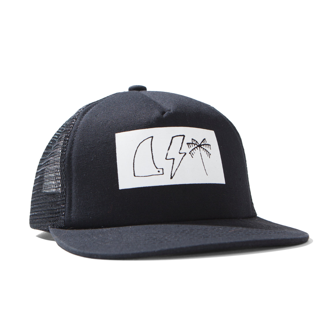 MUNSTERKIDS Single Black/White Cap