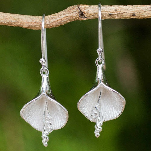 enchanted lily earrings