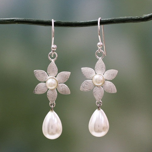 morning blossom earrings