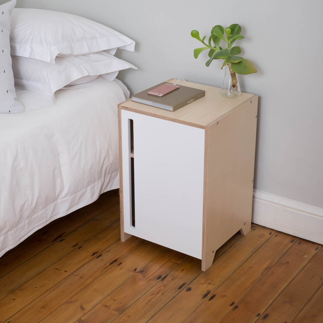 The Créme Bedside Table is here.