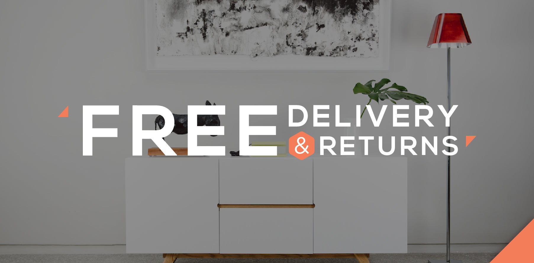 free delivery on flat pack furniture