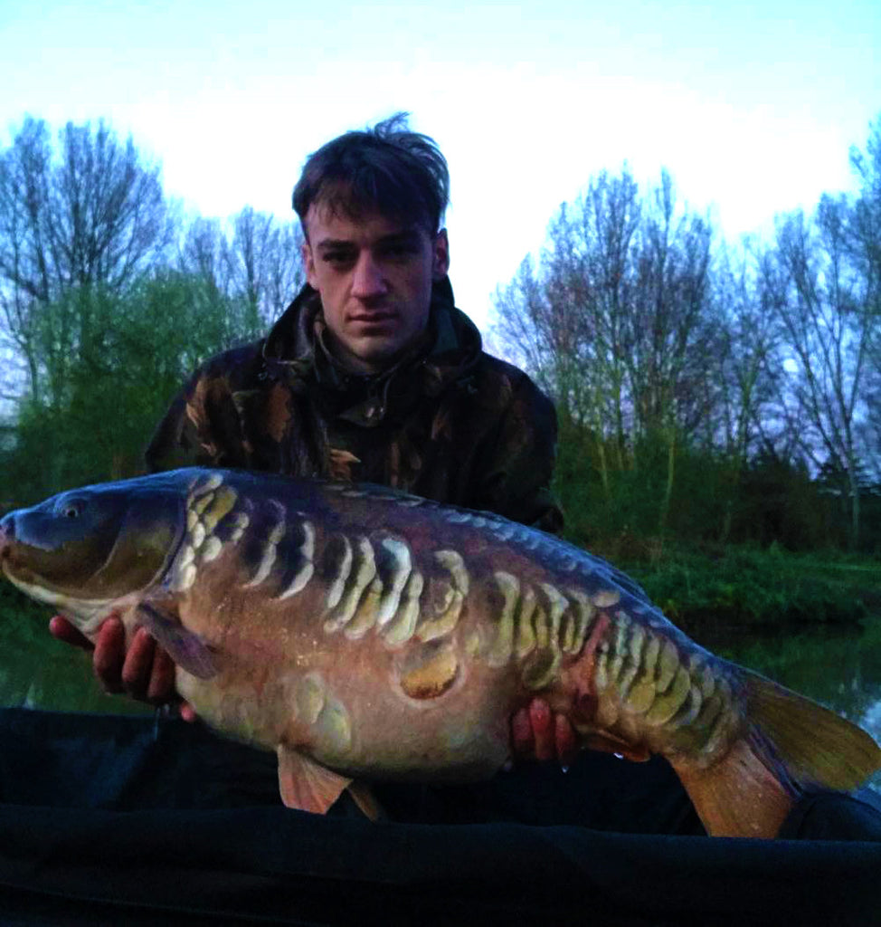 Jamie with his new PB at over 37lb!