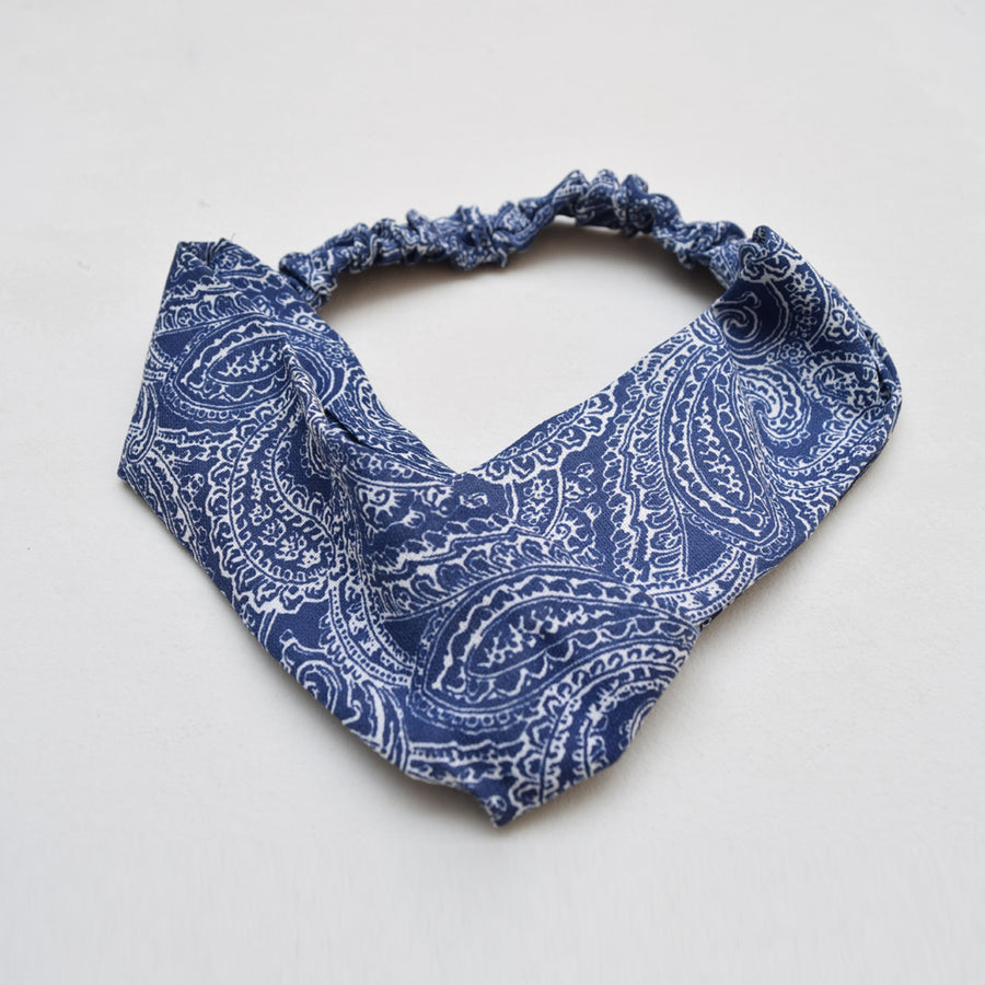 Knotted Bandana Headwrap